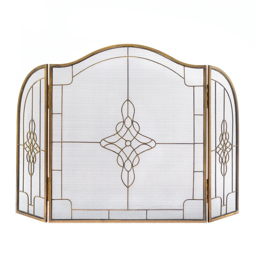 Accent Plus ART DECO FIREPLACE SCREEN, Art Deco Fireplace Screen