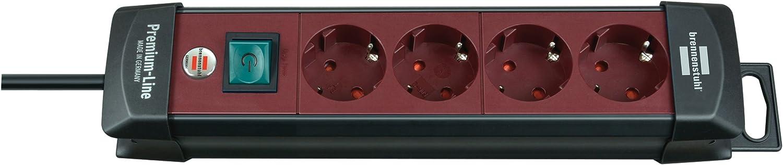 Gris Clair 3 m Brennenstuhl 1955500100 Prolongateur Multiprise Premium-Line 10 prises