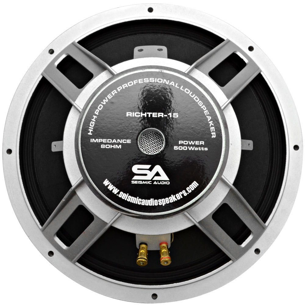 Seismic Audio - Richter 15 - 15'' PA/DJ Raw Replacement Woofer or Speaker 500 Watts by Seismic Audio (Image #3)