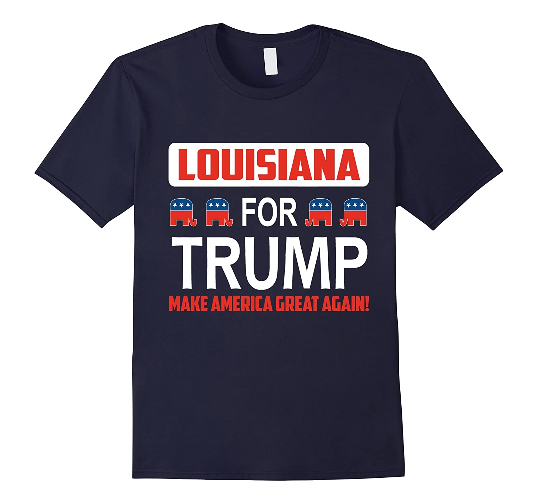 Louisiana for Trump 2016 t-shirt