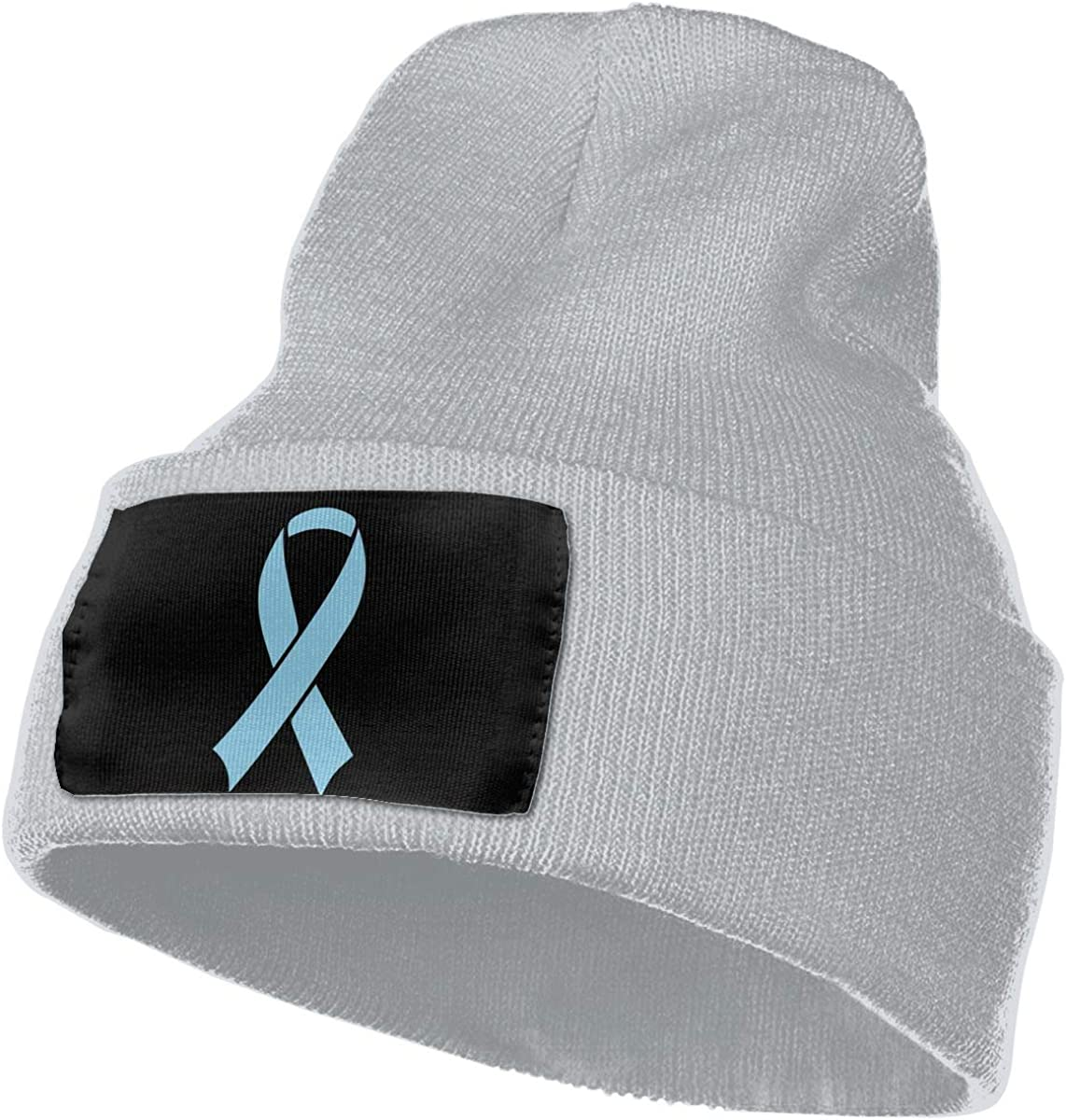 Prostate Cancer Awareness Ribbon Men /& Women Knitting Hats Stretchy /& Soft Beanie Cap Hat Beanie