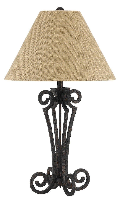 Amazon.com: 150 W 3 way Blacksmith hierro forjado lámpara de ...
