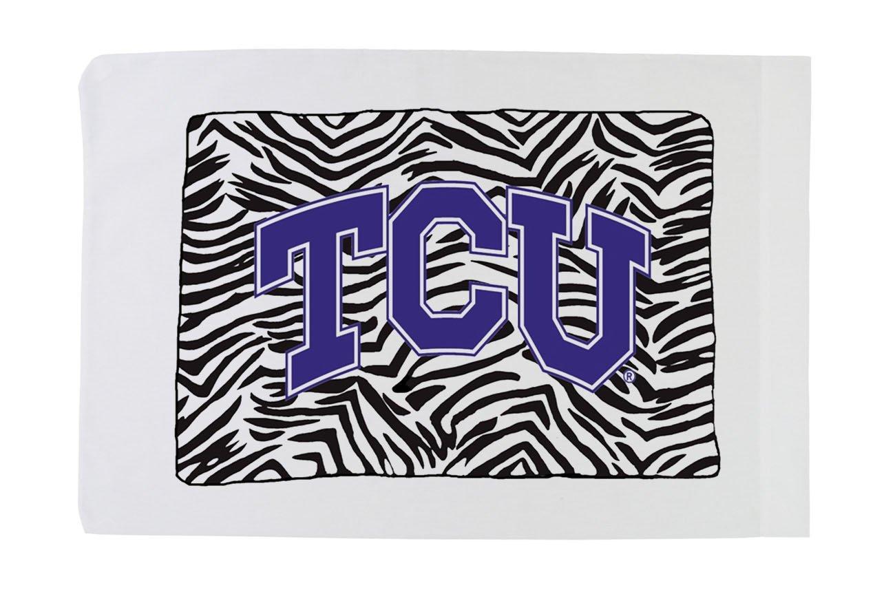 Standard Pillowcase - Texas Christian University - Zebra Girl
