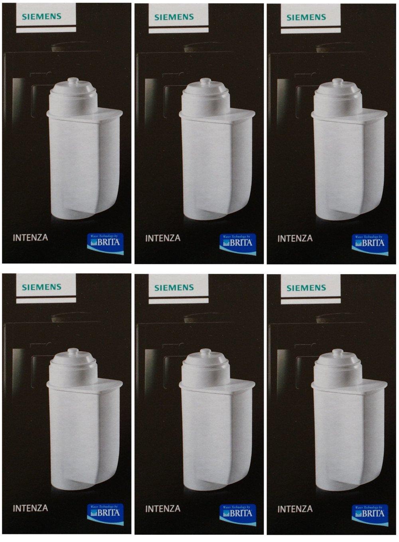 6x Brita Intenza Water Filter tz7003/Bosch, Siemens, Gaggenau, Neff Bosch Siemens