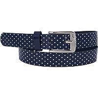 EANAGO - Cinturón infantil para niña (niños de 5 a 10 años, contorno de cadera de 57 a 72 cm), color azul oscuro o rosa…