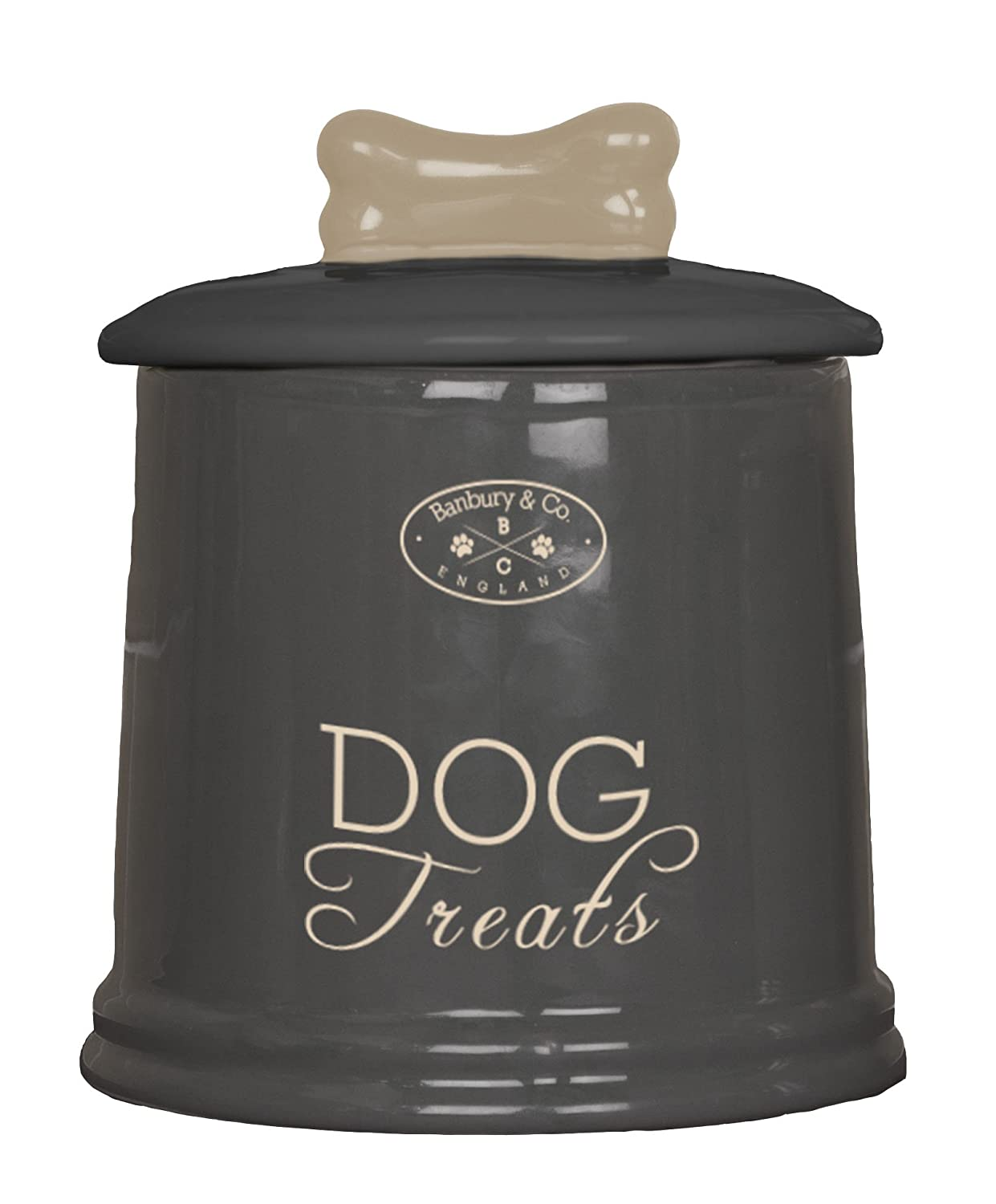 Country Kitchen Dog Treats House Of Paws Country Kitchen Treat Jar One Size Cream Amazon