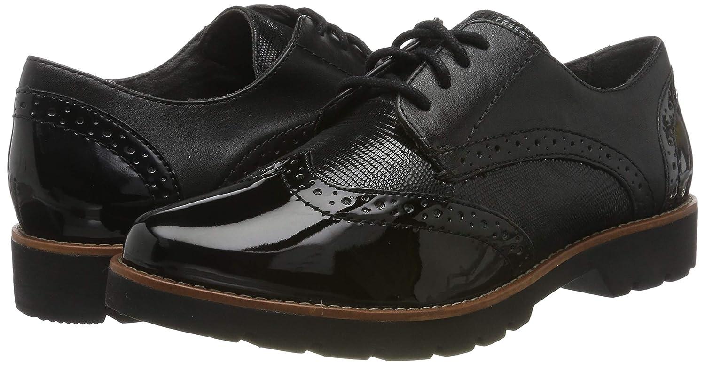 Jana 100/% comfort 8-8-23702-23 Zapatos de Cordones Brogue Mujer