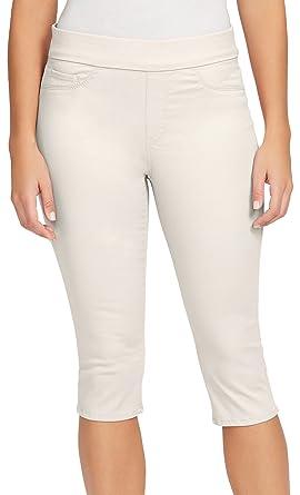 82ca4e8e36f20 Bandolino Women's Petite Thea Pull On Skimmer Legging, Creamstone 4P at  Amazon Women's Clothing store: