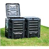 Keter - Compostador e-composter con capacidad de 470 L ...