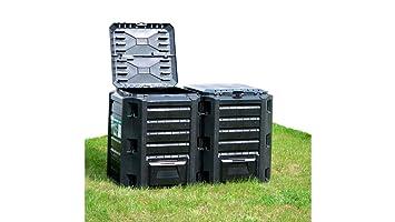 Prosperplast - Compogreen - compostador (800 litros), color negro