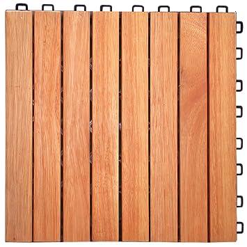 eucalyptus hardwood straight slat design interlocking wood deck tile tiles ikea canada lowes