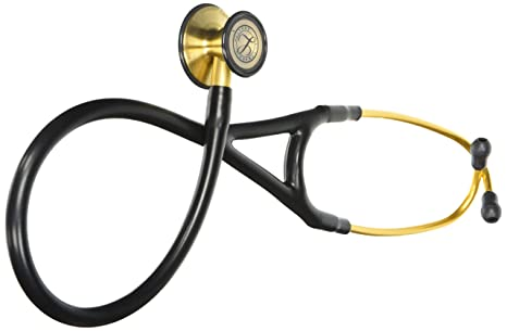 Amazon com: 3M Littmann Cardiology III Stethoscope, Brass