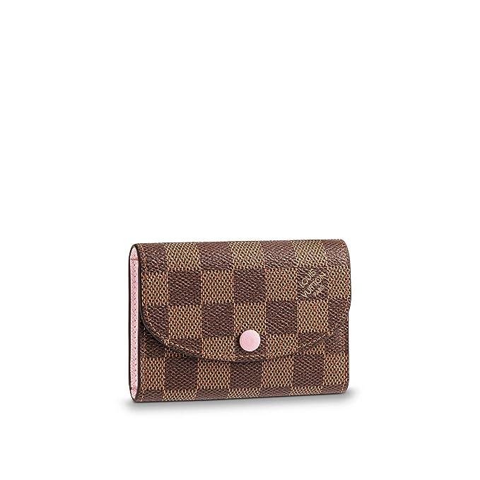 Amazon.com: Louis Vuitton Rosalie N64423 - Monedero de lona ...
