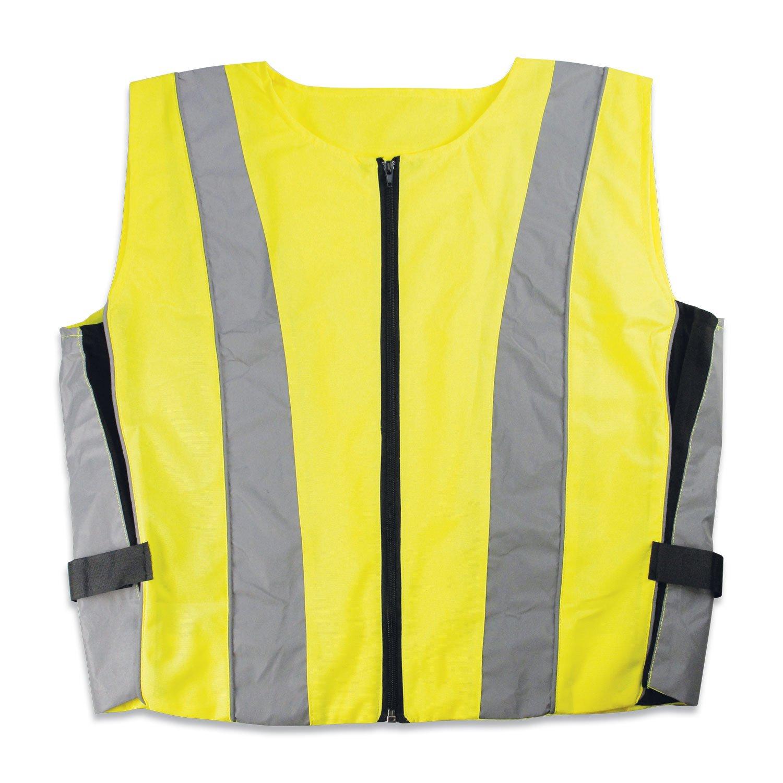 Cartrend 50251 Chaleco de emergencias para motorista, ajustable, resistente