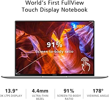 Huawei MateBook X - Best Laptops for Real Estate Agents