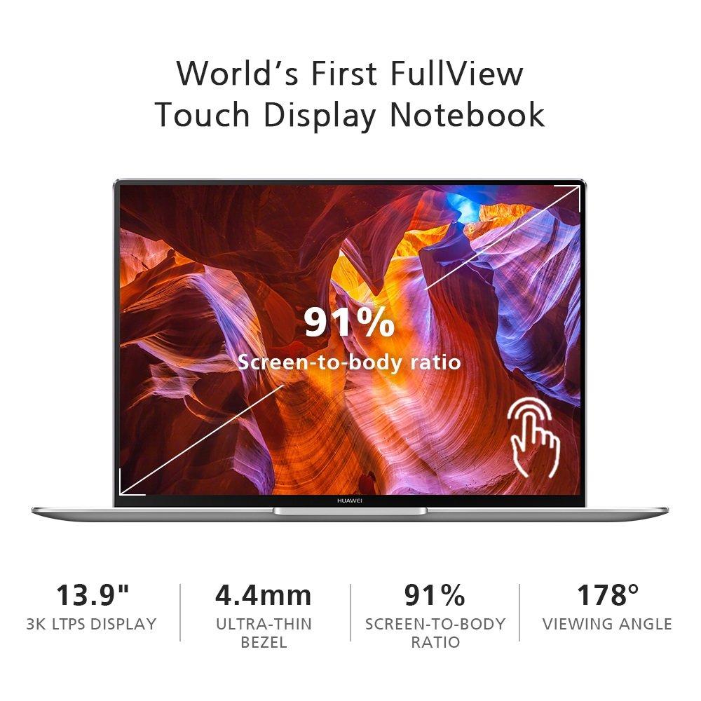 Huawei MateBook X Pro Signature Edition Thin & Light Laptop, 13.9