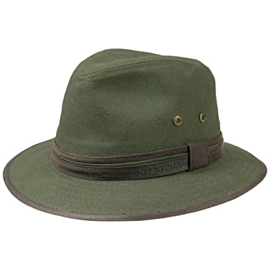 db3b05c94ad Stetson Cotton Traveller Hat outdoor casual  Amazon.co.uk  Clothing