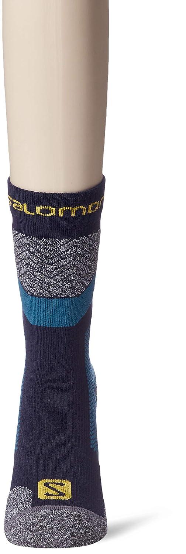 SALOMON Outpath Wool Poliamide//Lana Merino LC1217700 Unisex Adulto 1 Paio di Calze di Media Lunghezza