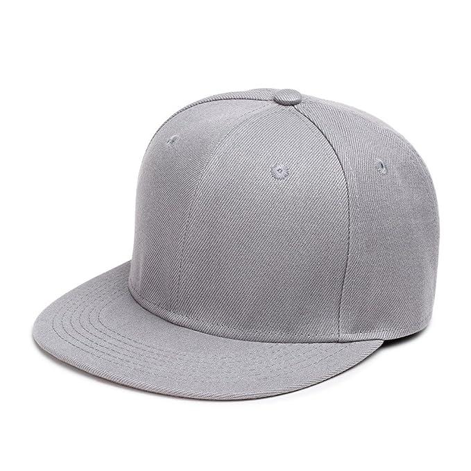 Haoduoliao Sombreros y Gorras Gorras de Béisbol Gorra de Béisbol Señoras Sombrero Plano Sombrero Plano los Hombres de Hip Hop Un Sombrero: Amazon.es: Ropa y ...