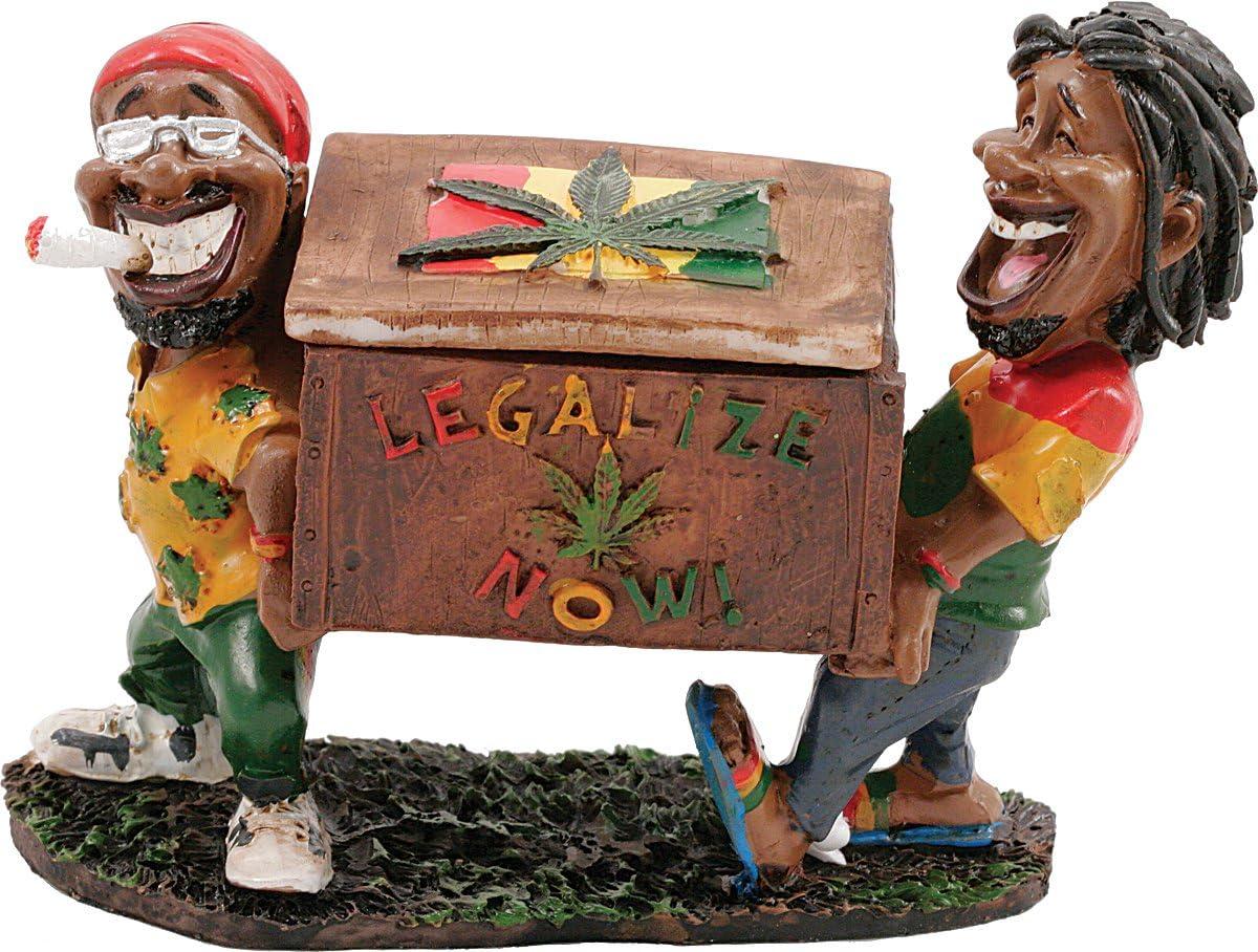 LT116 Fujima Jamaican Man Ashtray