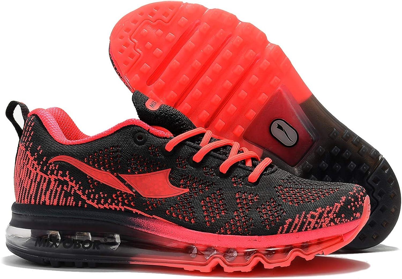 Mixobor - Zapatillas de correr unisex con cojín de aire, deportivas modernas para correr, fitness, gimnasio o atletismo: Amazon.es: Zapatos y complementos