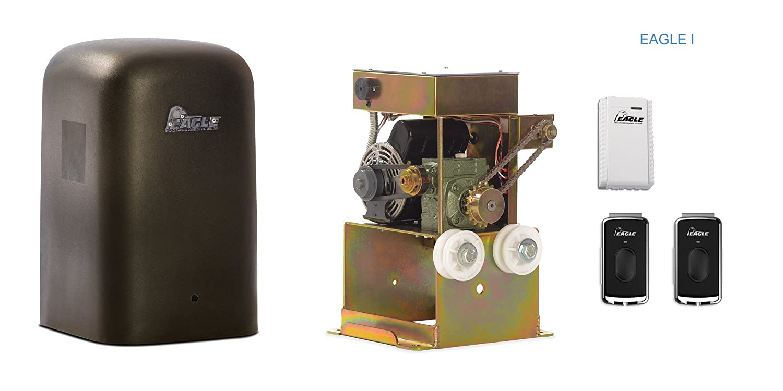 Amazon.com: Eagle-I 1/2 HP Slide Gate Operator with Remote and ...