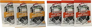 product image for Oberto All Natural Beef Jerky - Original and Teriyaki Beef Jerky .75 oz Snack Size (6 Pack)