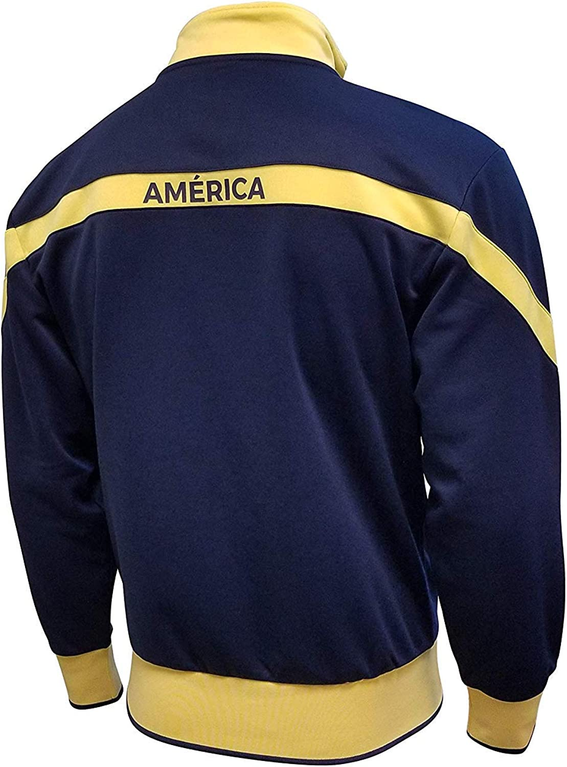 Club America Jacket and Beanie for Mens Adults Winter New Season Official Licensed Set AMER016