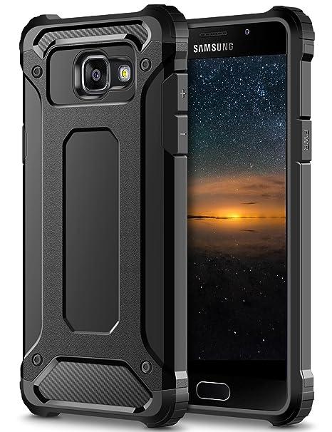 Samsung Galaxy A3 2016 Hülle, Coolden Outdoor Fallschutz Case Doppelte Schutz Soft Flex Silikon TPU Schale + Schlank Hard PC