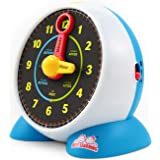 BEST LEARNING Learning Clock - Educational Talking Learn to Tell Time Light-Up Toy with Quiz and Sleep Mode Lullaby…