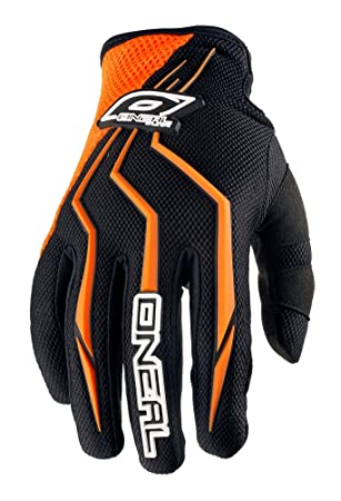 O'Neal Element Full Finger Mountain Enduro Motocross Dirt Gants de Cyclisme  Homme, Orange