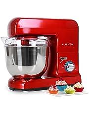Klarstein Gracia Rossa • Robot de cocina • Batidora • Amasadora • 1000 W • 5