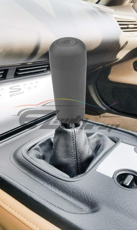 EZAUTOWRAP Shift Knob Stick Crystal Transparent Bubble Gray Throw Gear Shifter 10cm
