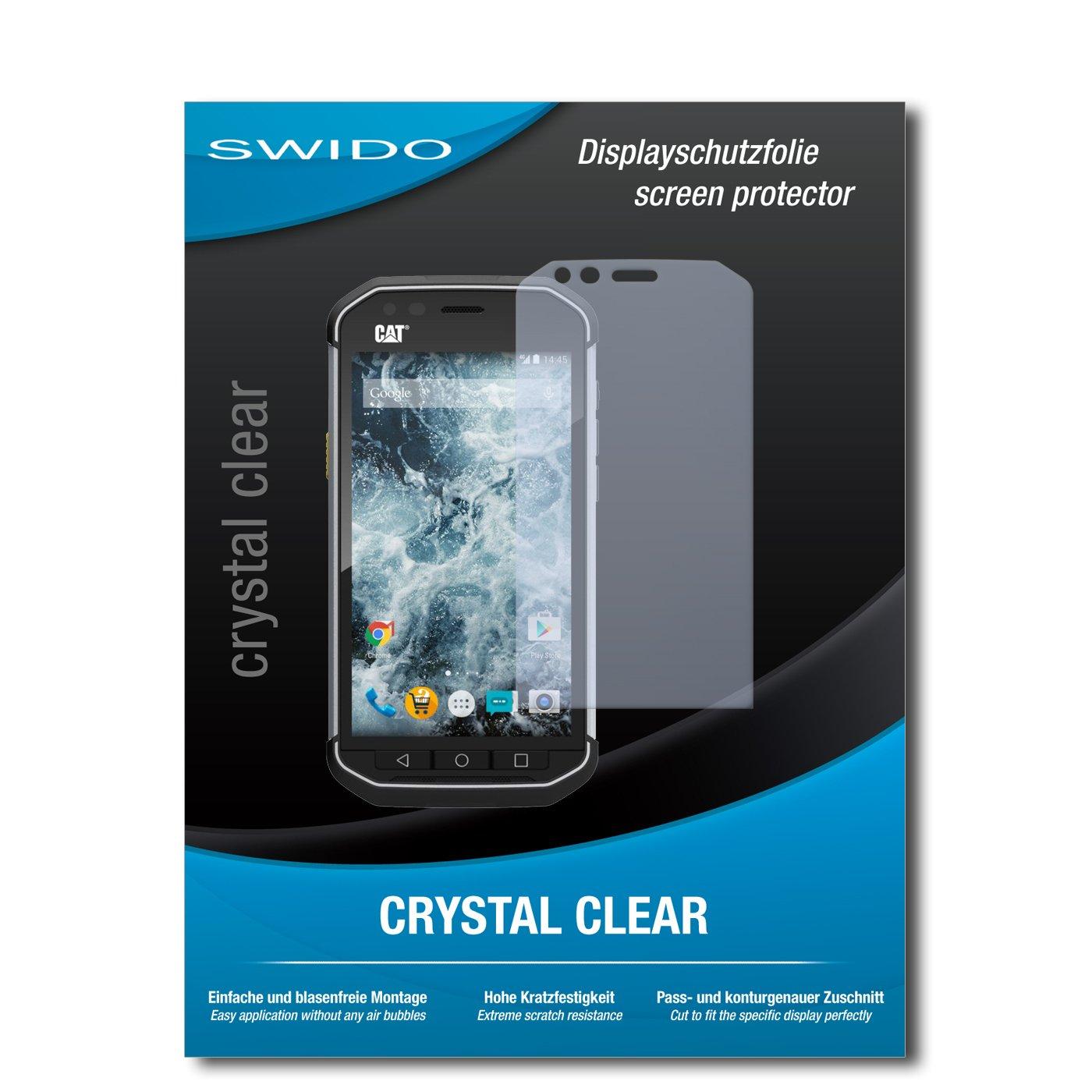 4 x SWIDO® Protector de pantalla Caterpillar Cat S40 Protectores ...