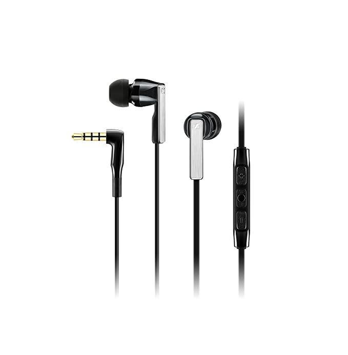 Sennheiser Cx 5.00 G Black In Ear Canal Headset by Sennheiser