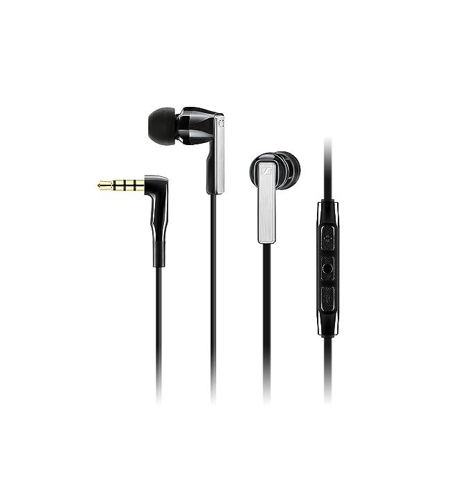 Sennheiser Cx 5.00 G Black In Ear Canal Headset by Sennheiser