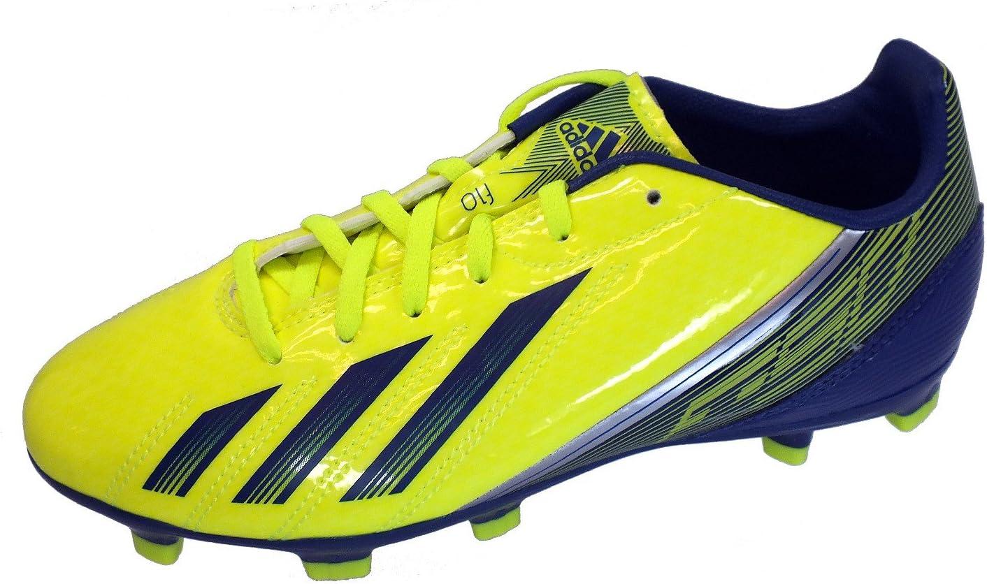 Adidas F10 TRX FG JUNIOR Zapatos de Fútbol Amarillo para ...