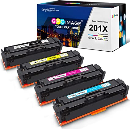 8 Pack High Yield CF400X Toner For HP 201X LaserJet Pro MFP M277dw M274n M252dw