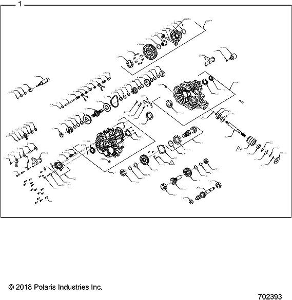 Qty 1 Polaris Drive Belt Genuine OEM Part 3211218