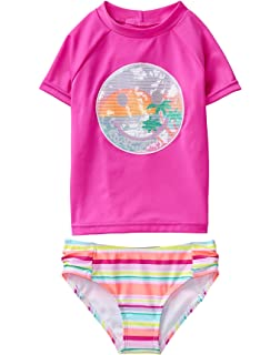 Gymboree Girls Long Sleeve Rash Guard 4