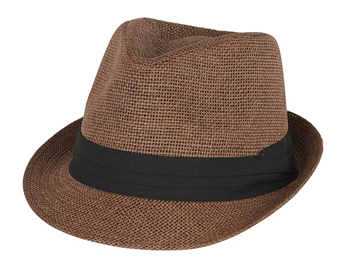 4b5b8f84a8314 Amazon.com  The Hatter Co. Tweed Classic Cuban Style Fedora Fashion ...