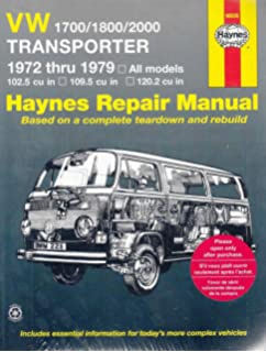 Vw transporter 1600 owners workshop manual all volkswagen volkswagen transporter 1700 1800 and 2000 1972 79 haynes repair manuals fandeluxe Choice Image
