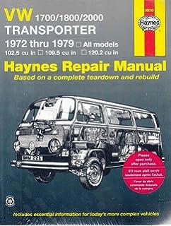 Volkswagen station wagon bus type 2 service manual 1968 1969 volkswagen transporter 1700 1800 and 2000 1972 79 haynes repair manuals fandeluxe Images