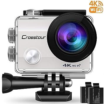 Crosstour WiFi Cámara Deportiva Acción 1080P Full HD 2.0 LCD