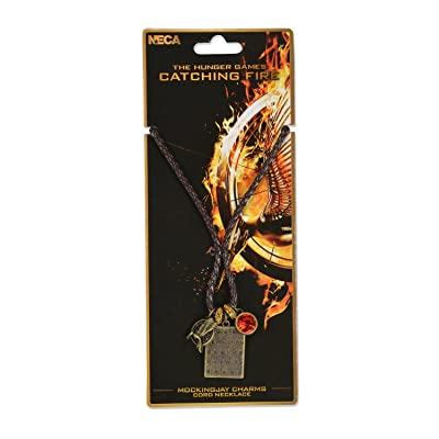 "NECA The Hunger Games: Catching Fire ""Mockingjay Charms"" Necklace: Toys & Games"