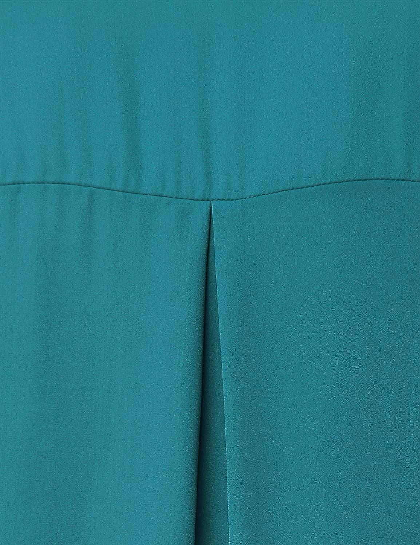 JCZHWQU Womens Dressy Pleated V Neck Chiffon Blouse Tops