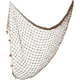 WINOMO 12m Mediterranean Style decorative Fishing Net Wall Photographing Decoration