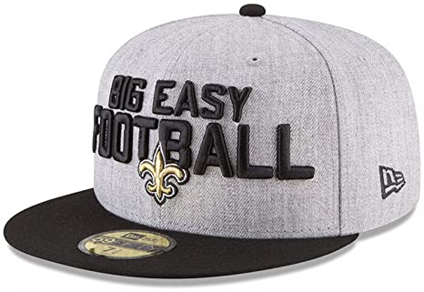 finest selection 933cc 9c73e New Era New Orleans Saints 2018 NFL Draft Official On-Stage 59FIFTY Fitted  Hat -