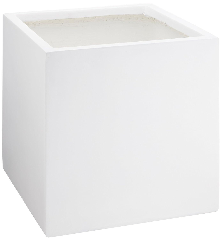 田中陶器 プランター ファイバークレー マットホワイト 8号プラ鉢対応 FC201B B01N6BJ2ZU