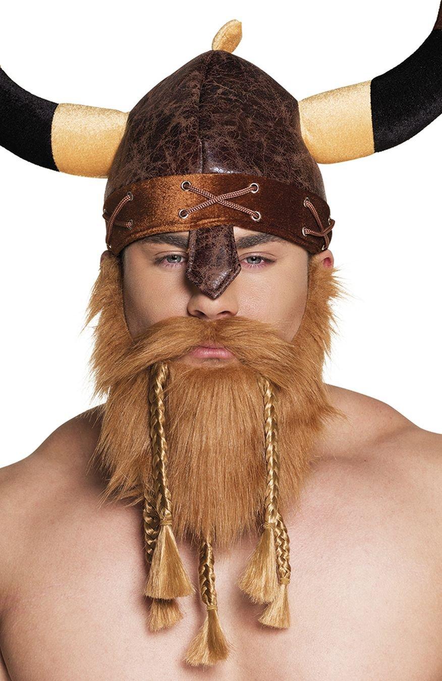 Boland 01847/Barba Vikingo One Size Disfraz